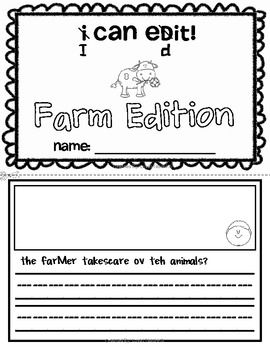 i can edit sentence editing for kindergarten and 1st farm edition skills include. Black Bedroom Furniture Sets. Home Design Ideas