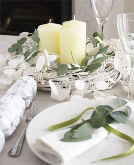 table center pieces 10 ideas for green winter table decorations shelterness