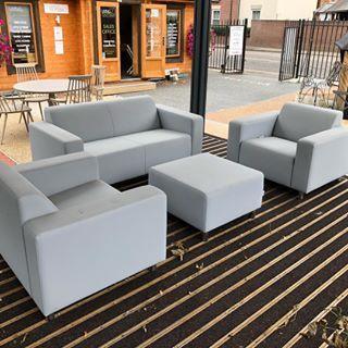 Ex-Display Cosi Outdoor Sofa The Tom Sofa Set in light ...