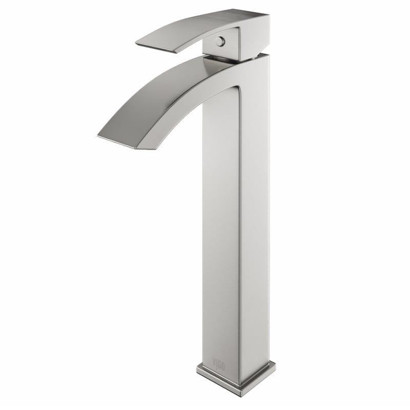 Vigo Vg03007 Duris Single Hole Bathroom Faucet For Vessel Sink