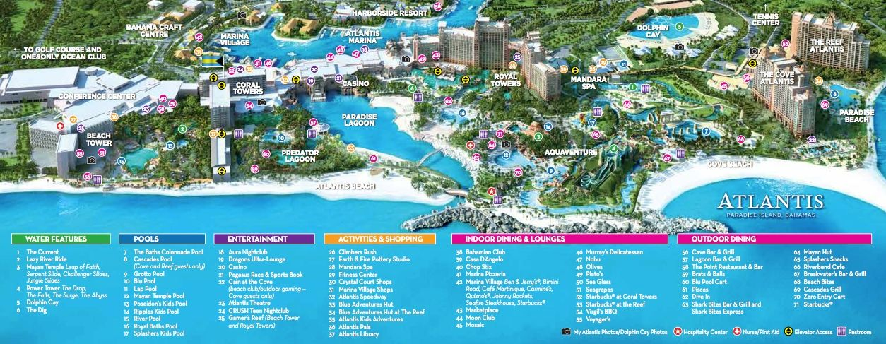 Atlantis Bahamas Map Google Search Groove Cruise Mia
