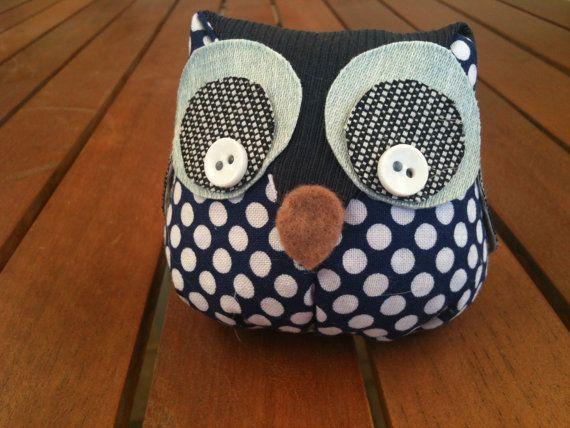 Mini owl shelf sitter by HouseofNicnax on Etsy, $6.00