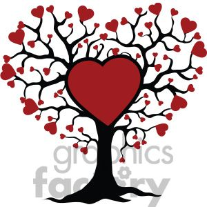 tree of life and love red hearts love clip art graphics rh pinterest com celtic tree of life clipart tree of life clipart with roots