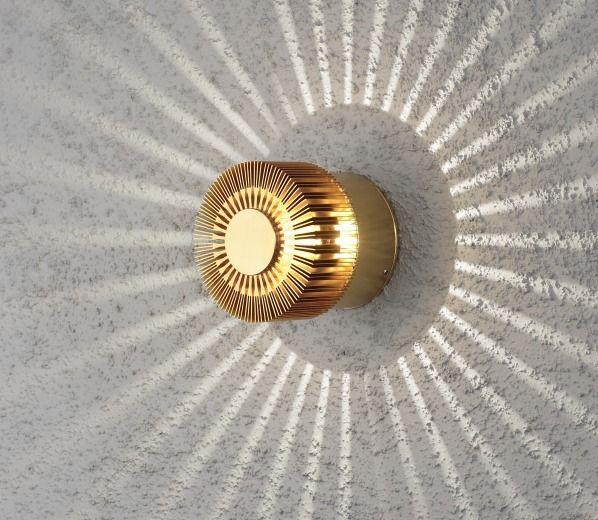 Konstsmide Monza 7900 Brass Light In 2020 Wall Lights Led Outdoor Wall Lights Outdoor Wall Lighting