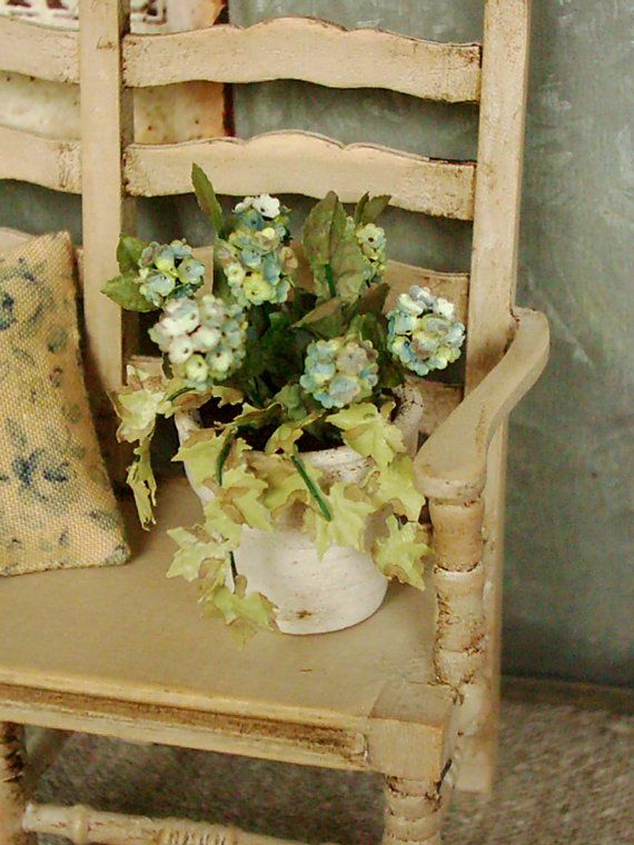 Indian summer settee 1:12 by ParisGreyMinis on Etsy