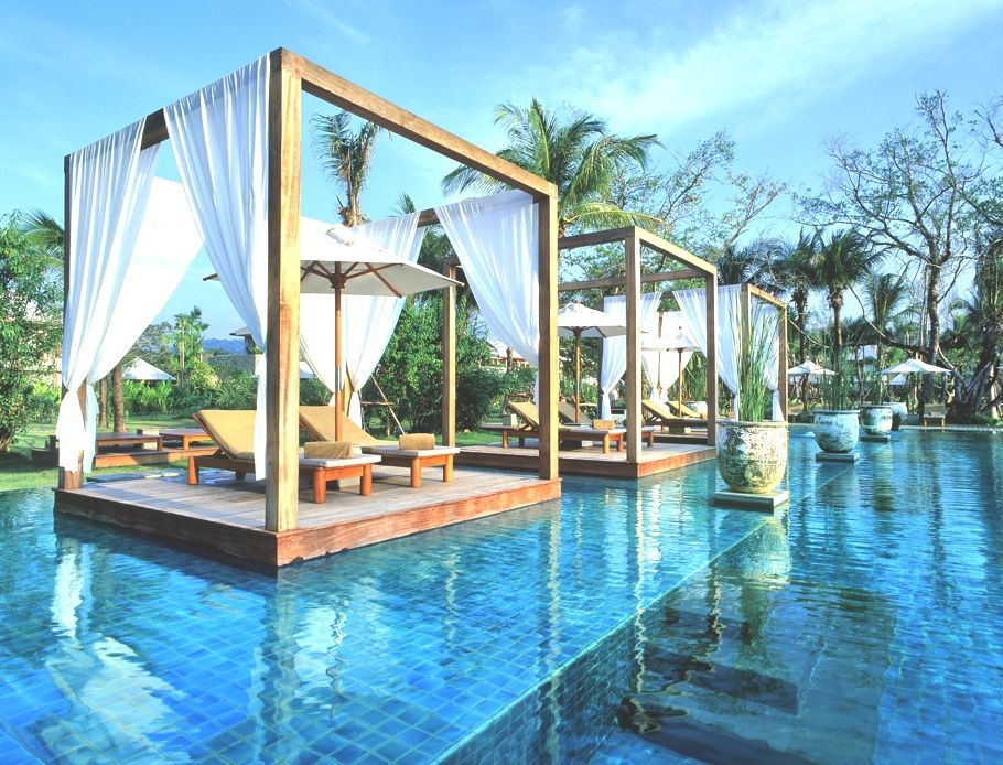 Luxury boutique resort, The Sarojin,in Khao Lak, Thailand.