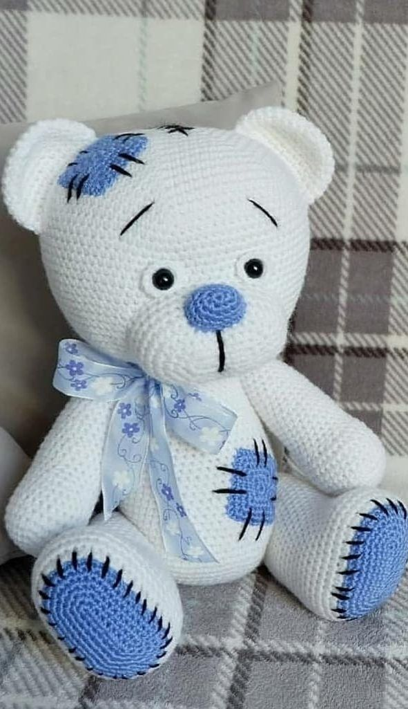 57+ New and Trend Amigurumi Bear Crochet Pattern Ideas Part 11 #crochetbear