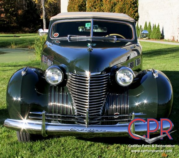 1940 Cadillac restored by the CPR team  | Classic Cadillac
