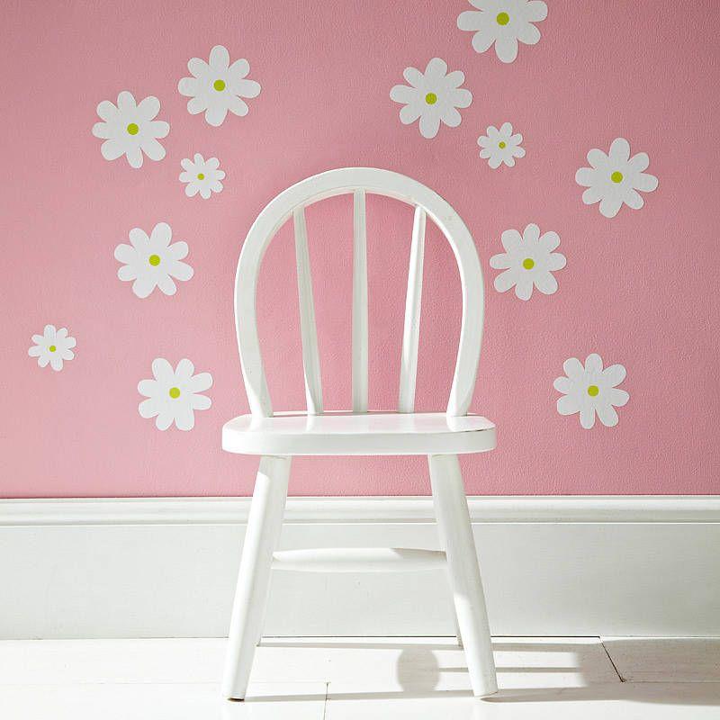 Flower wall stickers white lylas bedroom pinterest flower wall flower wall stickers white mightylinksfo