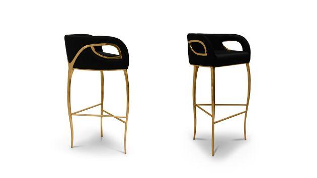 Chandra bar stool 2 chandra bar stool 2 bar em casa for Mobilia furniture hire