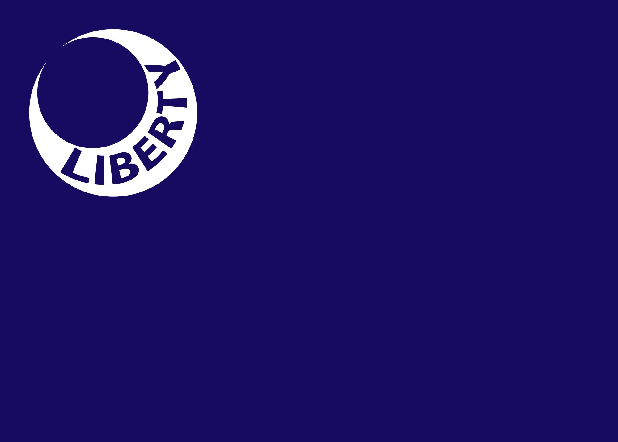 South Carolina Flag 1775 To 1861 Moultrie War Flag Liberty Flag