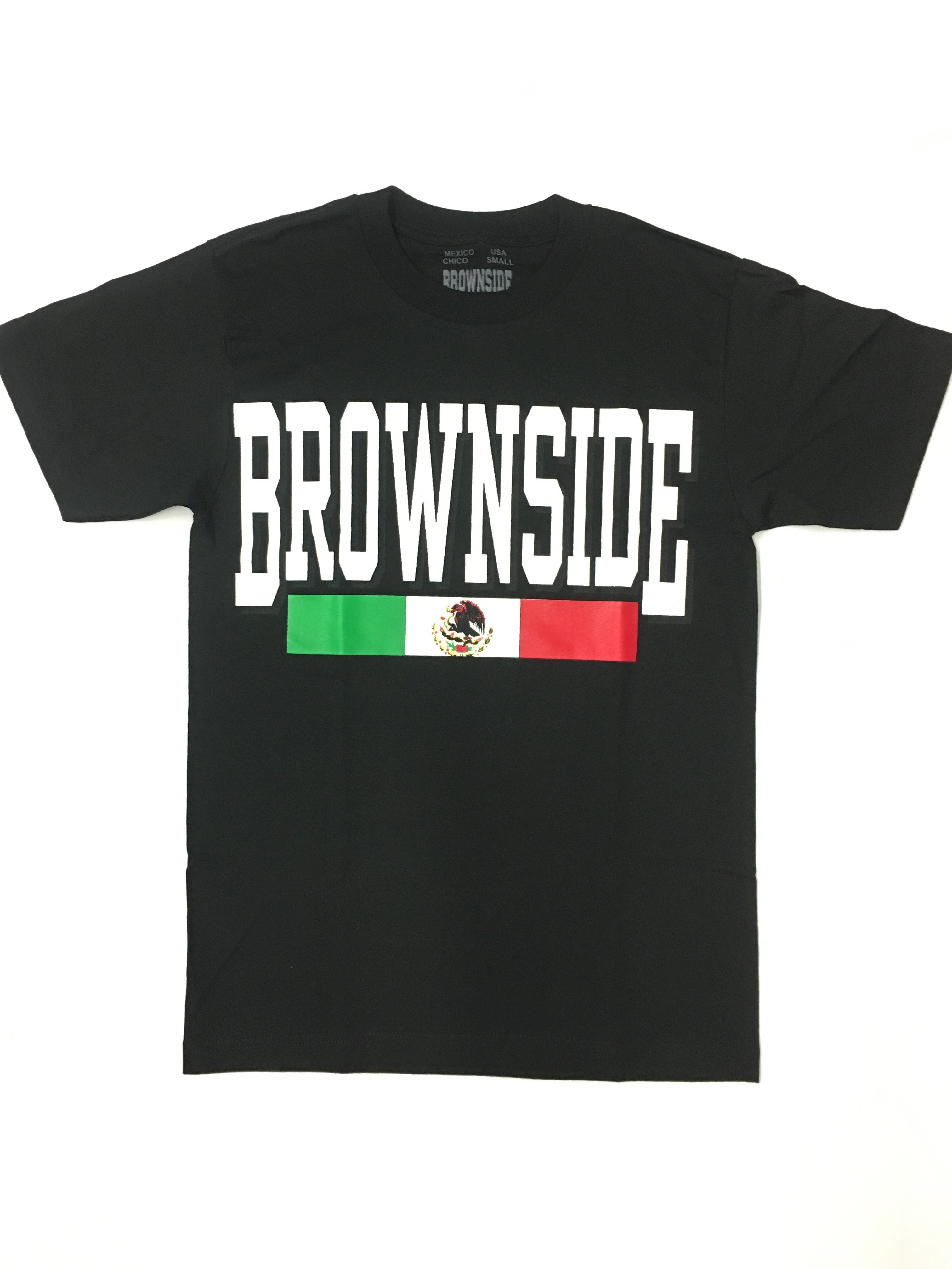 653df997d6c Brownside — BROWNSIDE LOGO TEE Brown Pride, Chicano Rap, Brown And Grey,  Mexicans