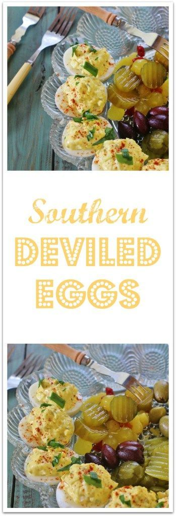 Southern Deviled Eggs | Syrup and Biscuits