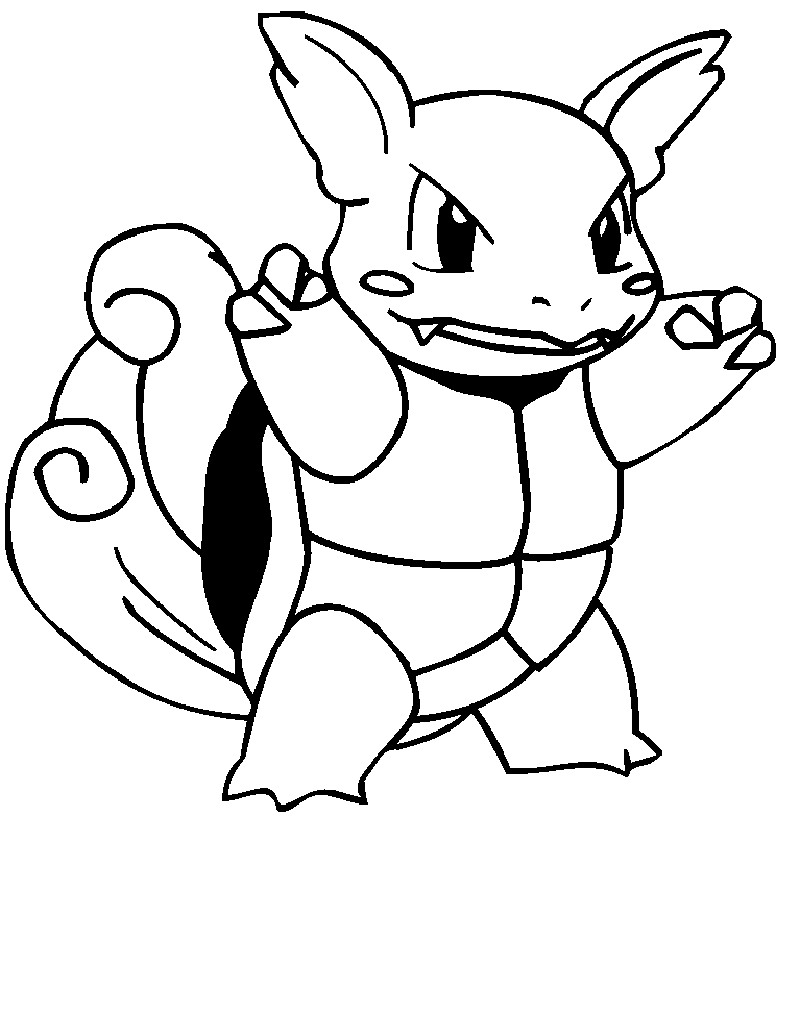 Squirtle Evolution Coloring Pages Pokemon Educative Printable Coloring Pages Wwe Coloring Pages Coloring Pages For Kids