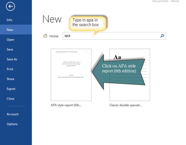 Apa Page Format In Microsoft Word Apa Citation Guide Libguides