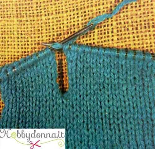 Come eseguire le asole (occhielli) in un capo in maglia - Hobbydonna ...