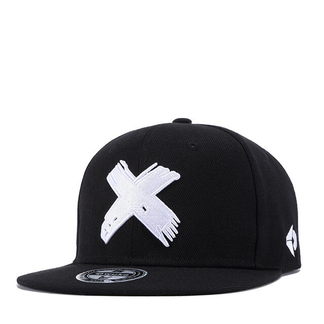 X Snapback Womens Baseball Cap Hip Hop Cap Baseball Caps Mens