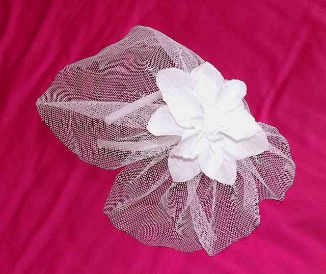 hair accessories (headband with net)