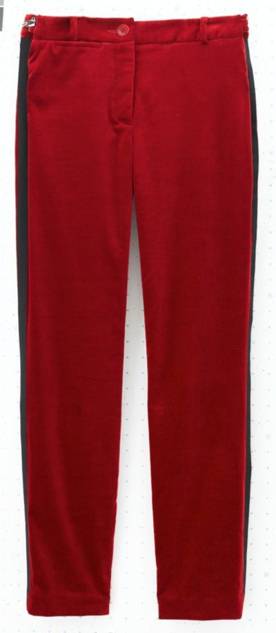 Tuxedo Trousers, make yours here: http://www.glamour.co.za/2012/06/06/fashion-celebrity/winter-trend-alert-tuxedo-trousers#
