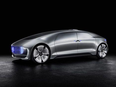 Mercedes Benz S Latest Concept Car Is A Driverless Living E Las Vegas
