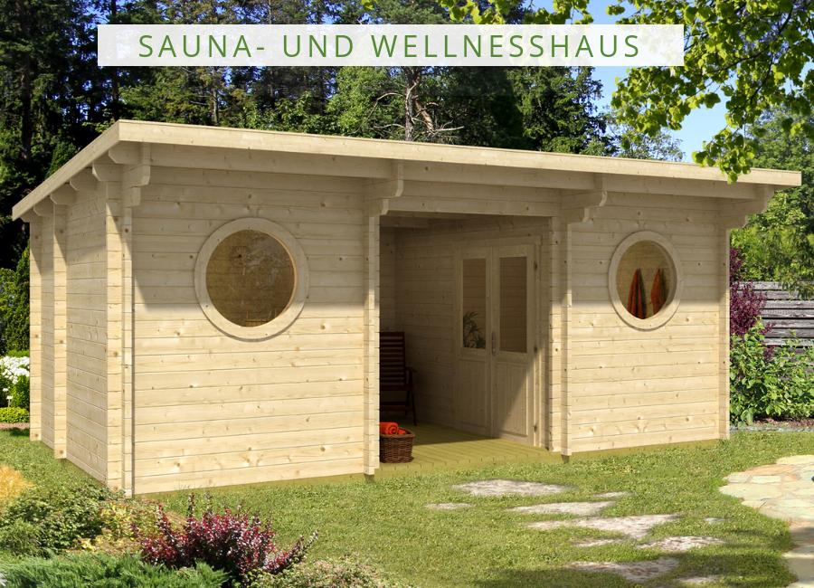 Gartenhaus Mit Sauna Und Geräteschuppen