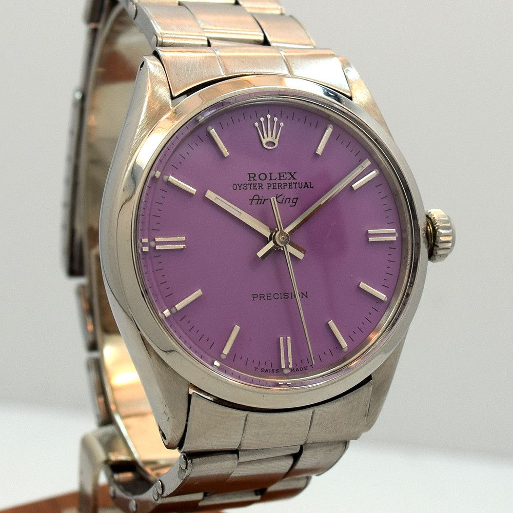 Rolex AirKing Greyish Blue Dial 5500 (SOLD) The Vintage