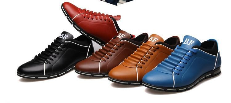 f879c6bfcfe09 Shoes - New Casual Breathable Leather Shoes in 2019   clothes   Mens ...
