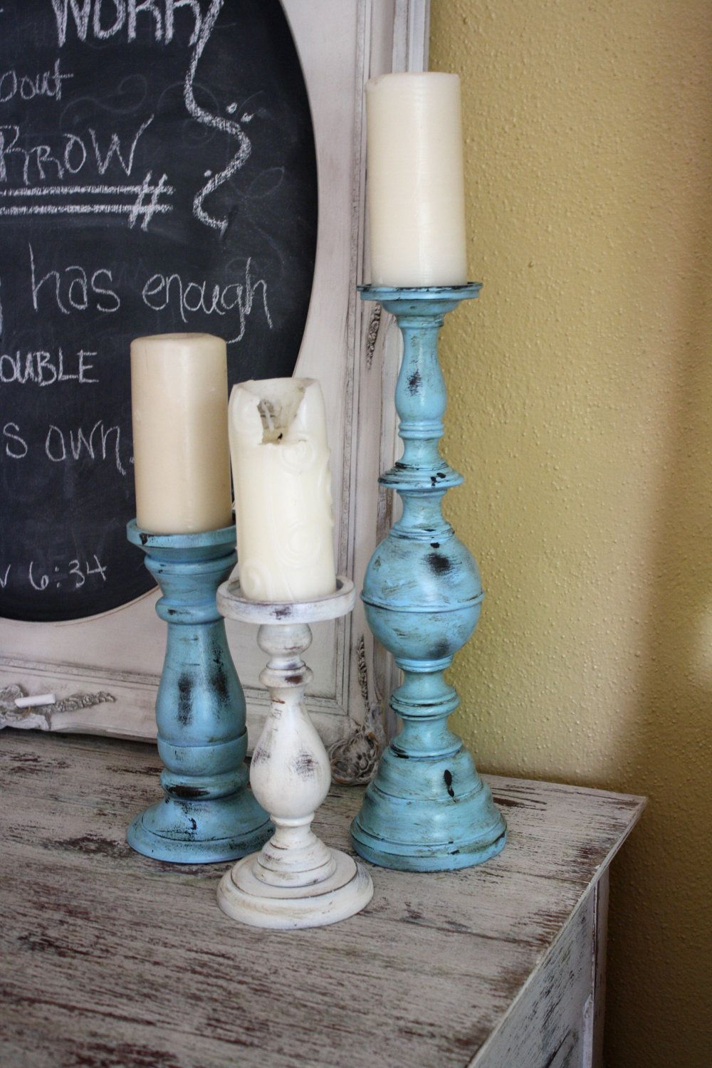 Coastal cottage candle holders for the home pinterest coastal