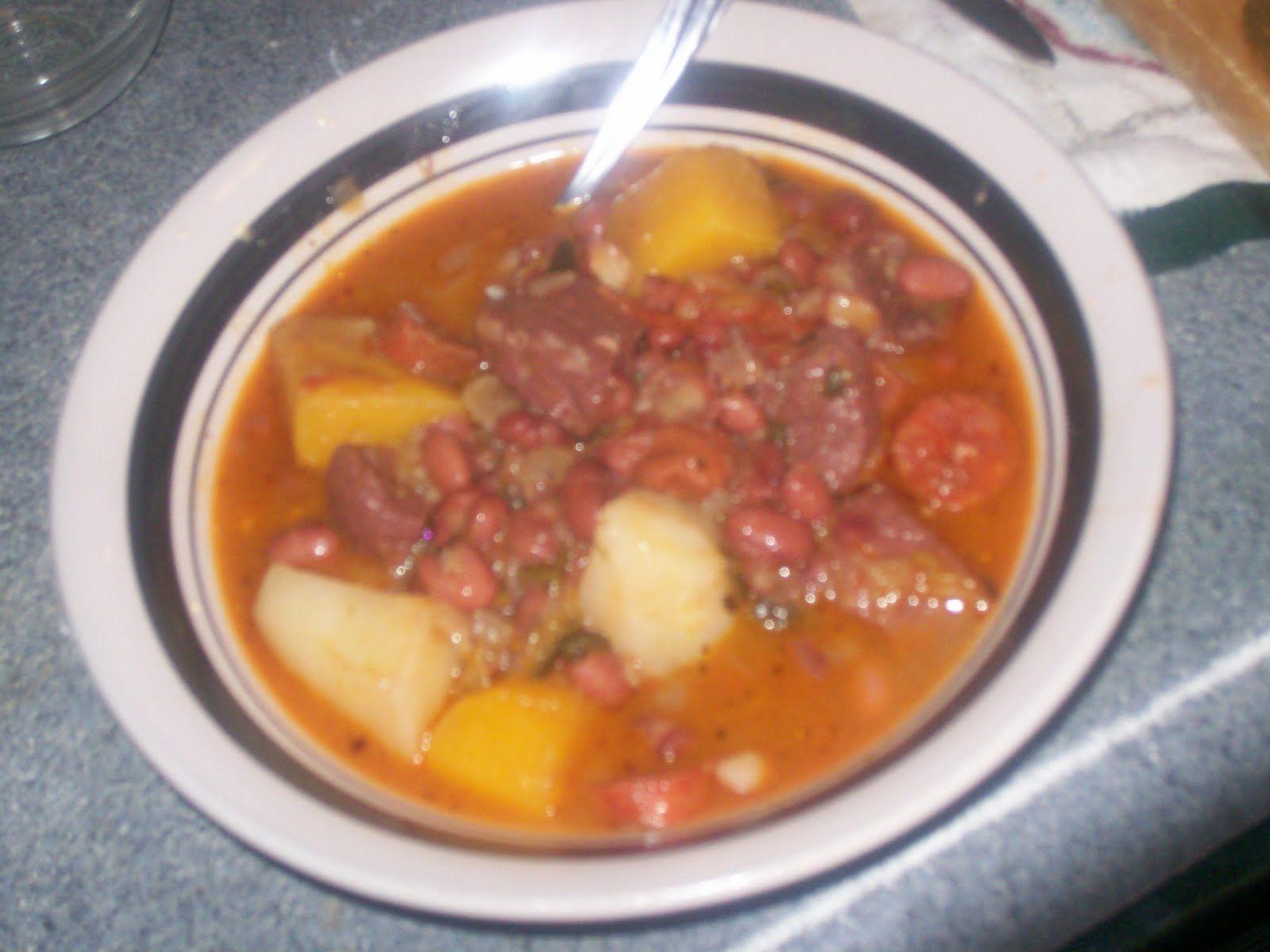 La Cocina De Nathan: Cuban, Spanish, Mexican Cooking & More: Sonia's Potaje de Frijoles Colorados (Sonia's Red Bean Stew)