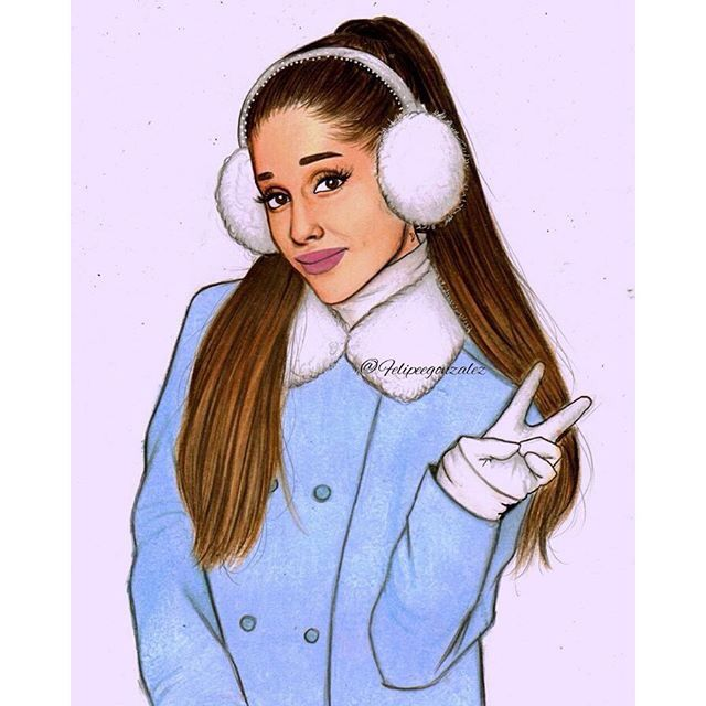 Ariana Grande Christmas Wallpaper: Ariana Grande. I'm Going To Be Famous Like Her, And Use It