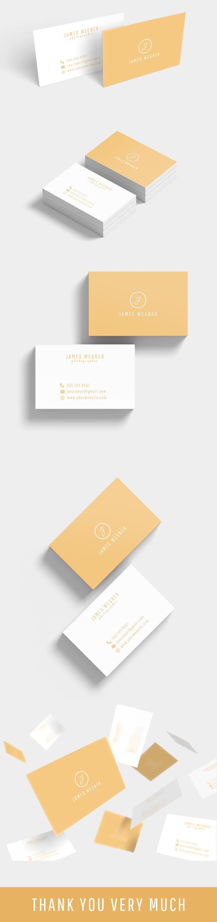 Free Modern Business Card Ver 2