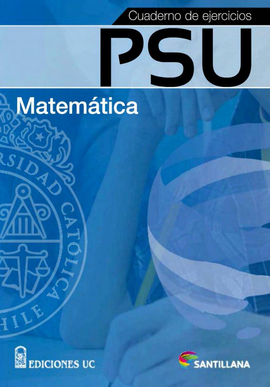 Cuaderno Ejercicios Uc Matematica Santillana Matematicas Secundaria Matematicas Matematicas 1 Secundaria