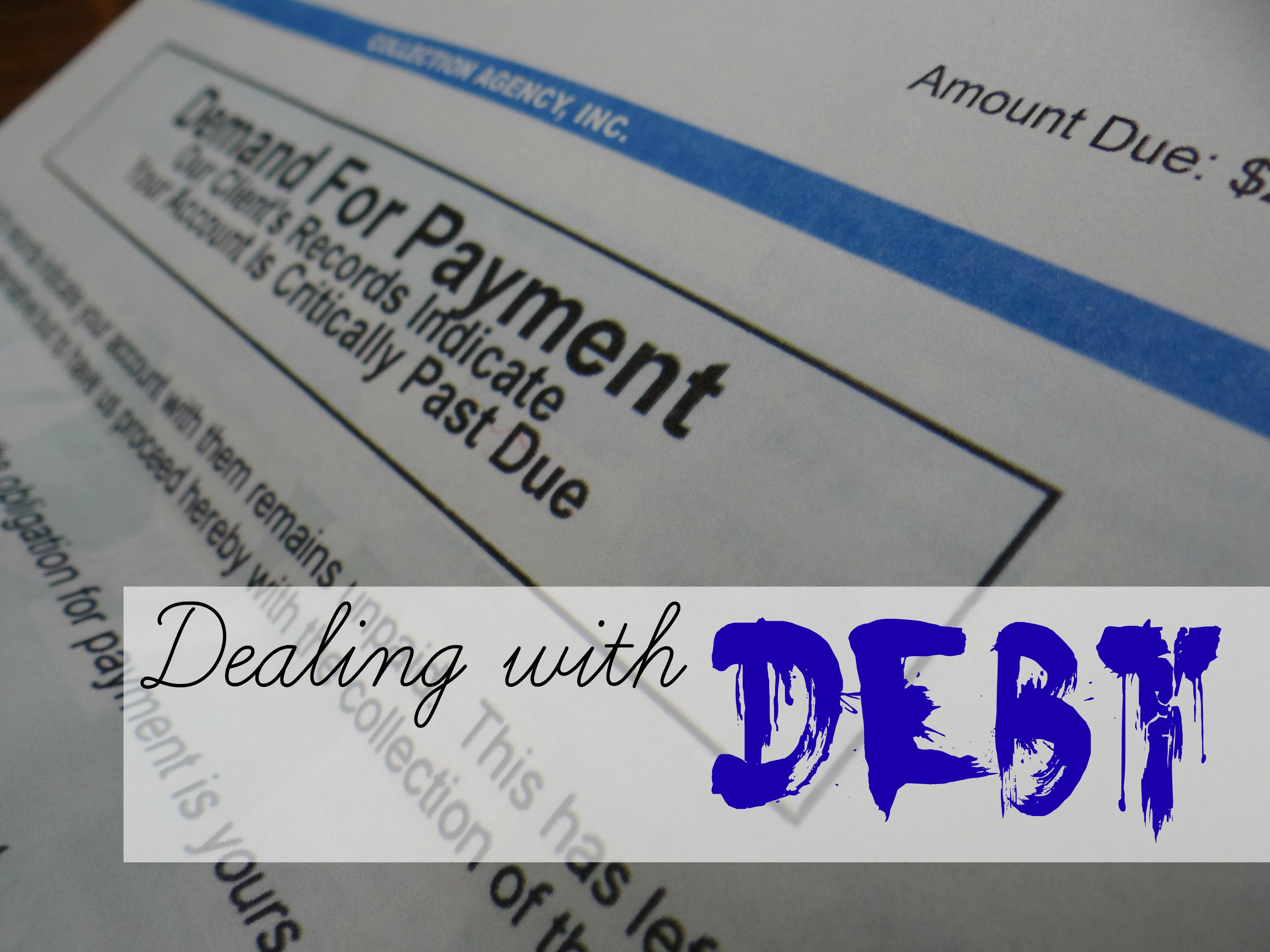 Dealing With Debt