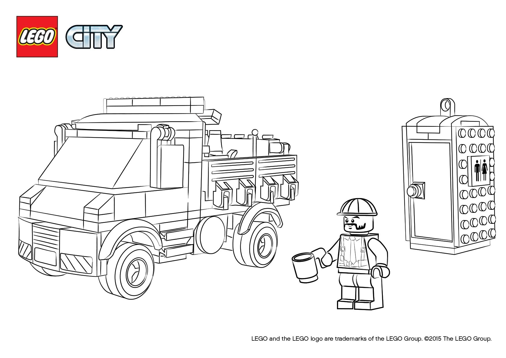 Coloring Pages Of Cars And Trucks Meilleur De 31 Lego Police