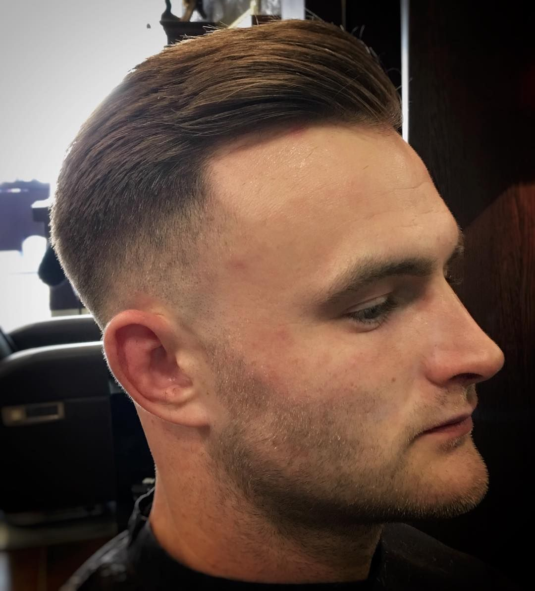Mens professional haircuts another angle from yesterday skins on lloyddeanjj off to ride my