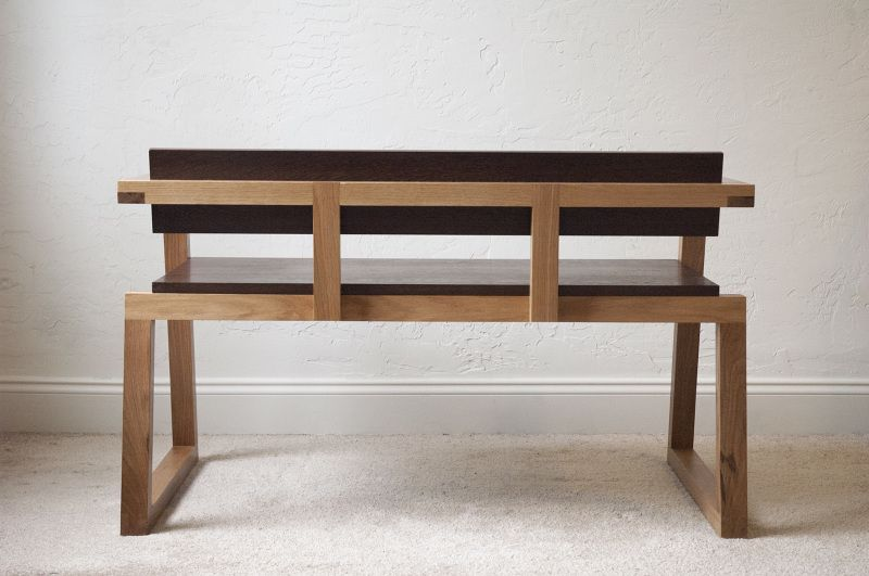 Charming Boot Bench I Designed This Indoor Bench To Live In An Entrance Way Or Foyer.