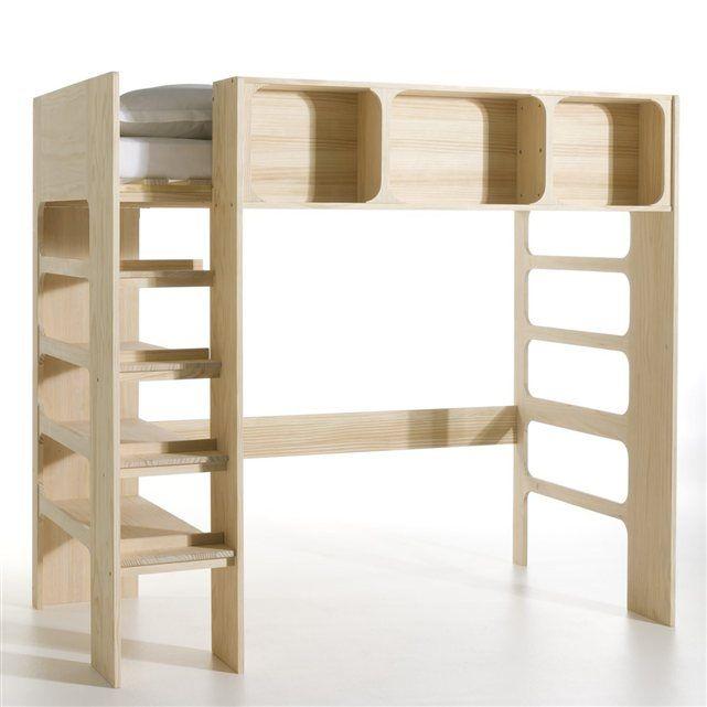 Lit mezzanine Duplex AMPM  prix, avis \ notation, livraison En - peindre un meuble laque blanc