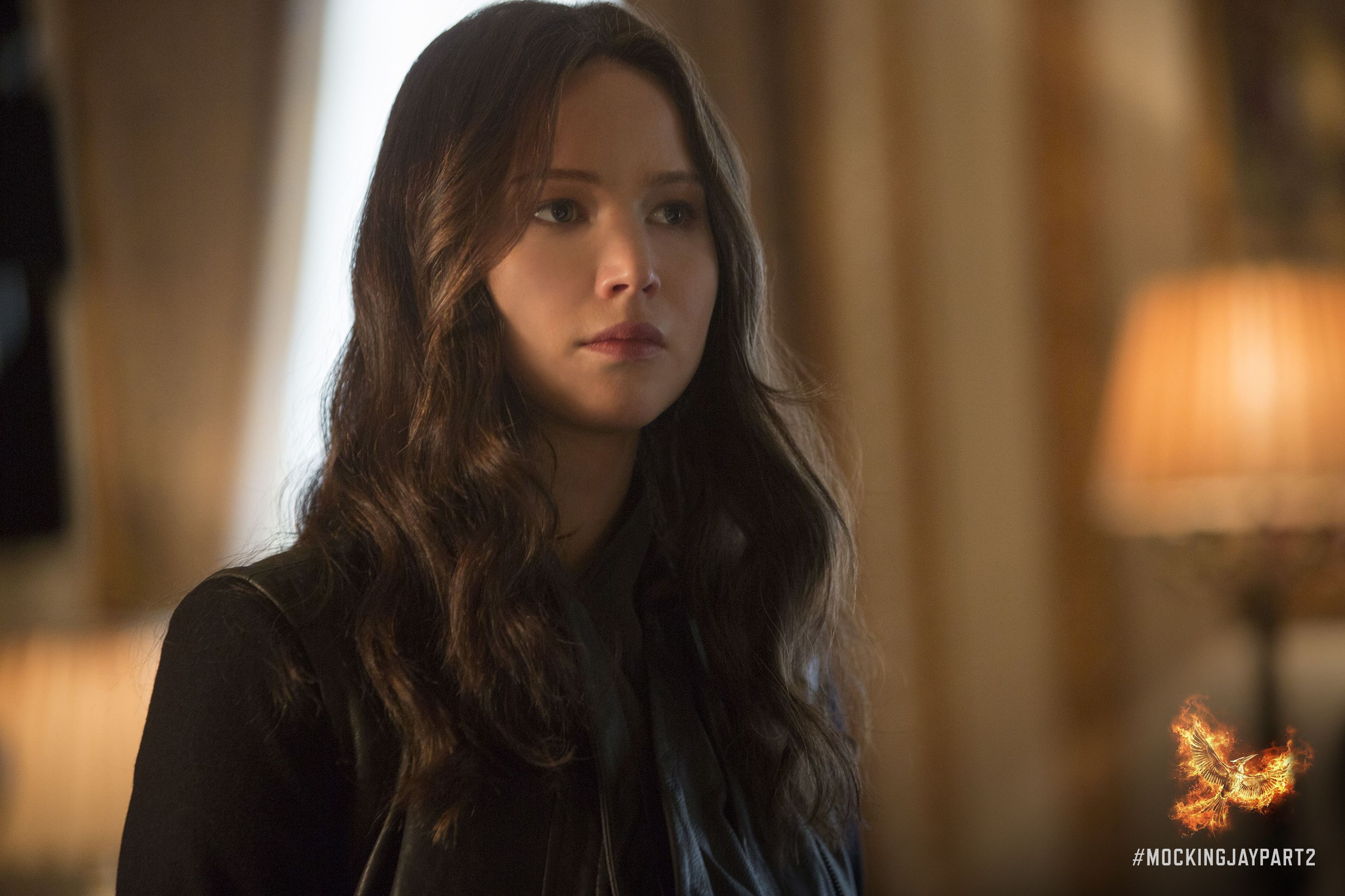 """I can't believe how normal they've made me look on the outside…"" - Katniss Everdeen, #MockingjayPart2"