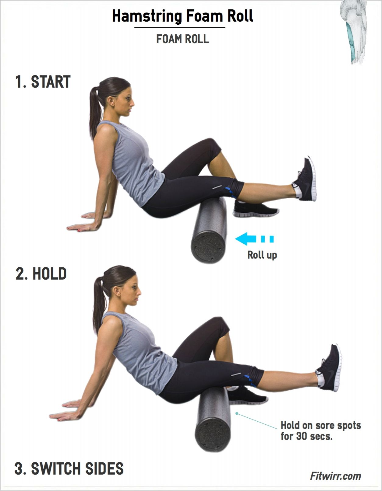 Pin On Hamstring Exercises