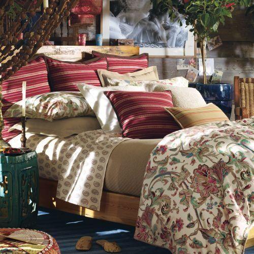 Lauren By Ralph Lauren Bedding Antigua Floral Comforter; TWIN By Lauren By Ralph  Lauren.
