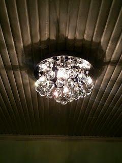 chrystal plafond