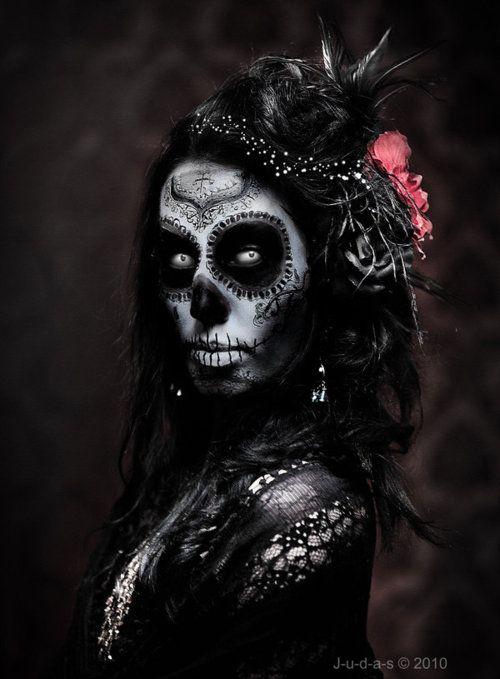 sugar skull maskerad