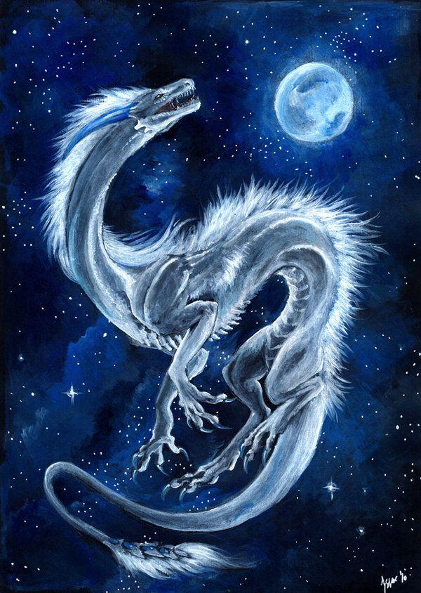 Full Moon Dragon: Dragon Pictures, Dragon Art, Dragon Horse