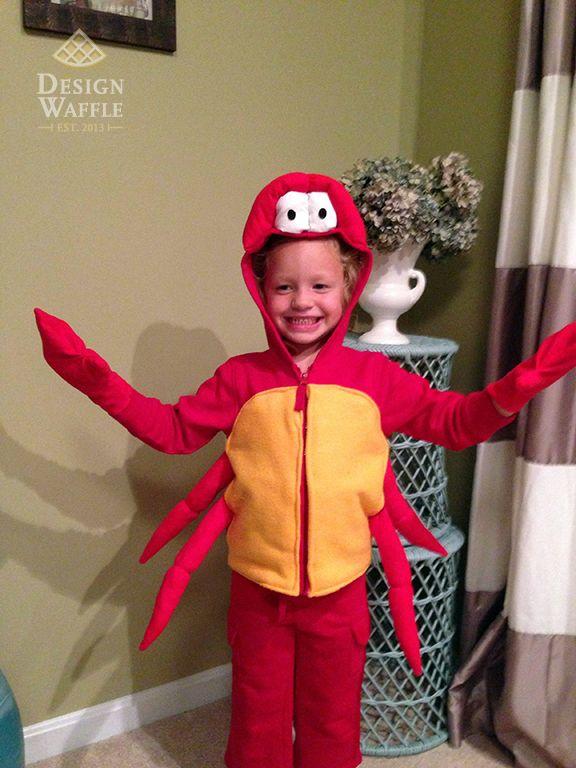 DIY Sebastian Crab Costume Little Mermaid  sc 1 st  Pinterest & DIY Sebastian Crab Costume Little Mermaid | The Little Mermaid ...