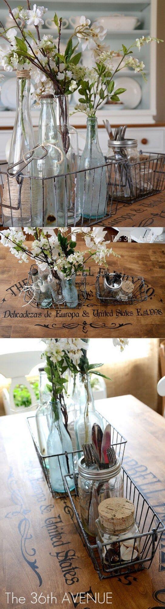 28 Simple Dining Room Ideas For A Stunning Inspiration: 28+ Stunning Farmhouse Dining Room Decor & Design Ideas