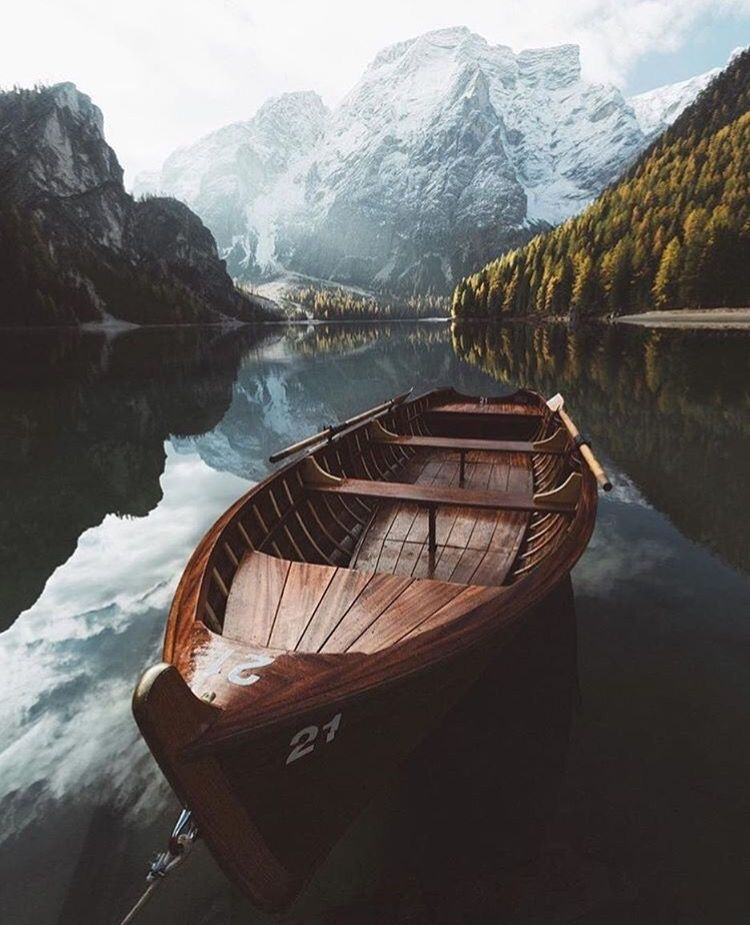 Lago di Braies, Braies, Bolzano, Itália