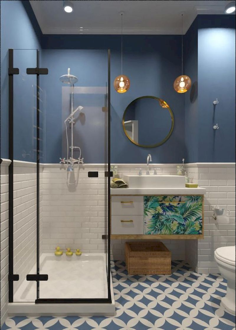 Photo of 52 Comfy Bathroom Designs Ideas With Addition Of Stone