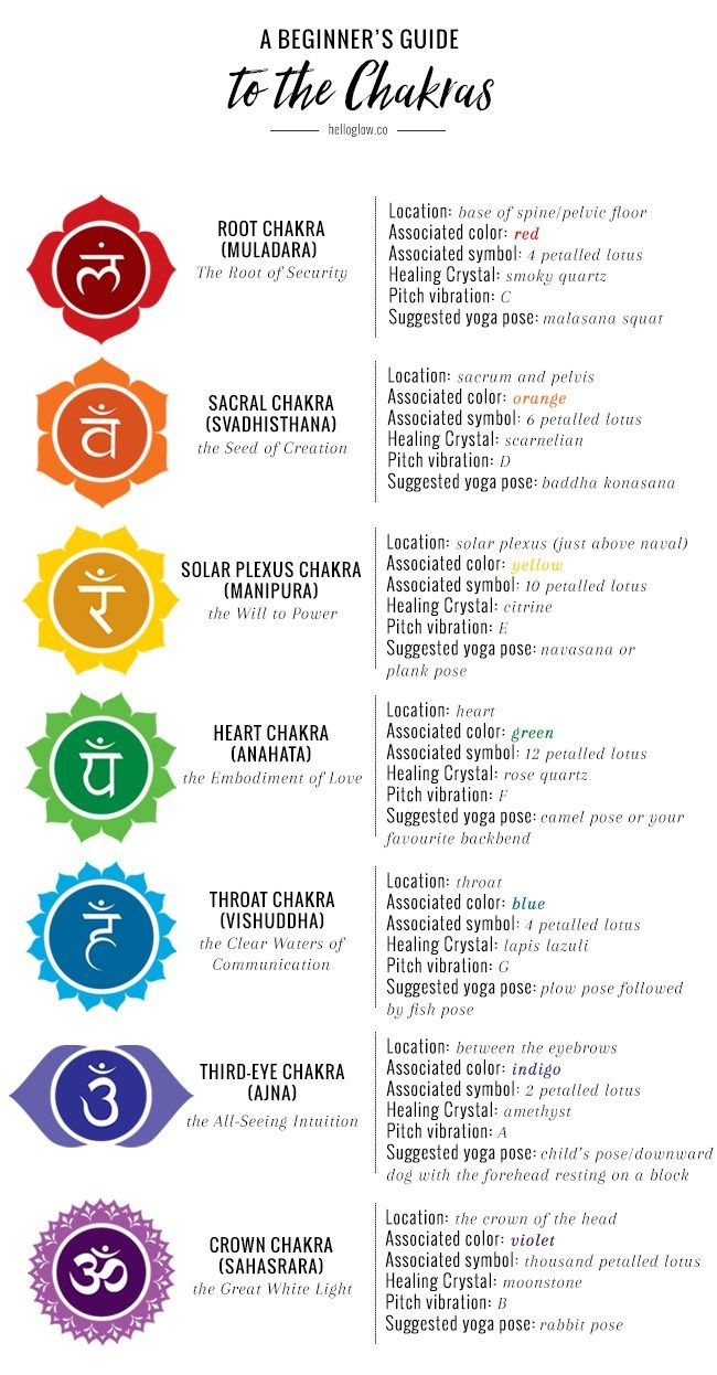 A Beginner's Guide to the Chakras | Spiritual + Woo | The