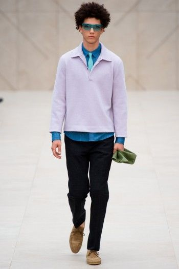 BURBERRY PRORSUM SPRING/SUMMER 2014 | LONDON COLLECTIONS: MEN