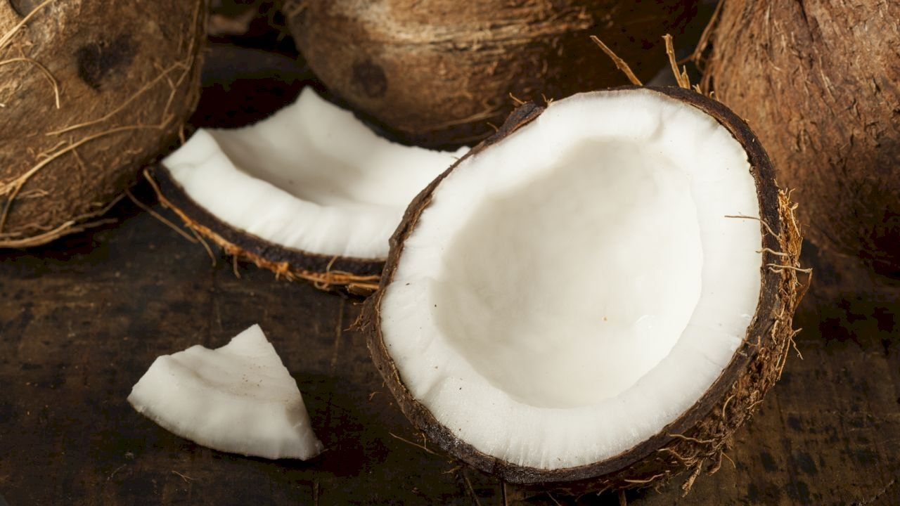 طريقة فتح جوز الهند Coconut Oil For Skin Coconut Oil Skin Care Coconut Oil Hair Treatment